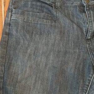 Merona Jeans - Merona Mid Rise cropped jeans sz 18